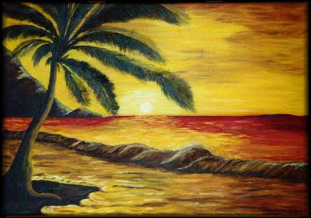 am strand erstes gemalt von der hobbymalerin sabine richter aus gorden. Black Bedroom Furniture Sets. Home Design Ideas